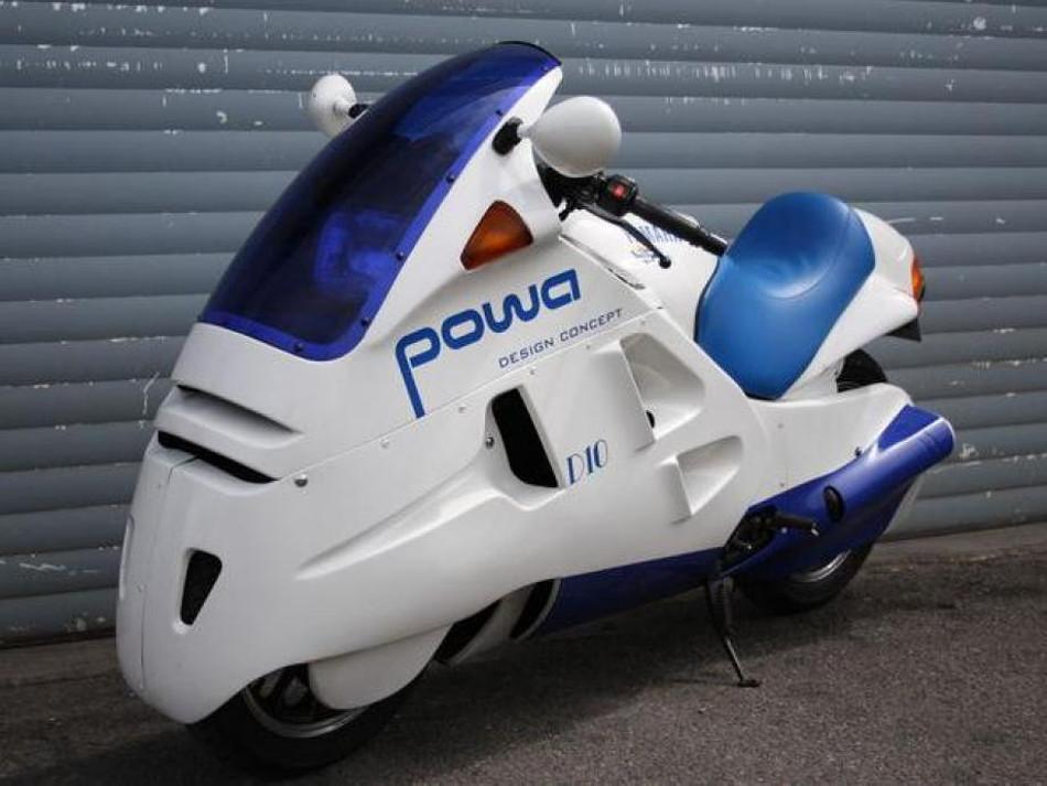 Yamaha Powa D10, para gustos únicos