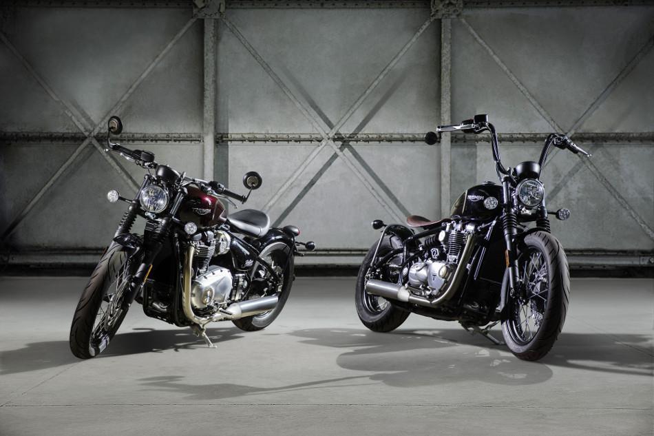 Descubre la nueva Triumph Bonneville Bobber
