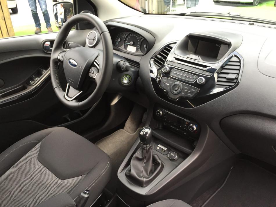 El Ford KA+, más confortable que su predecesor