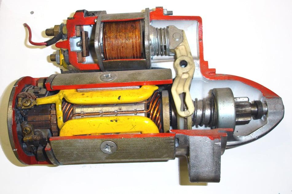 La historia del motor de arranque