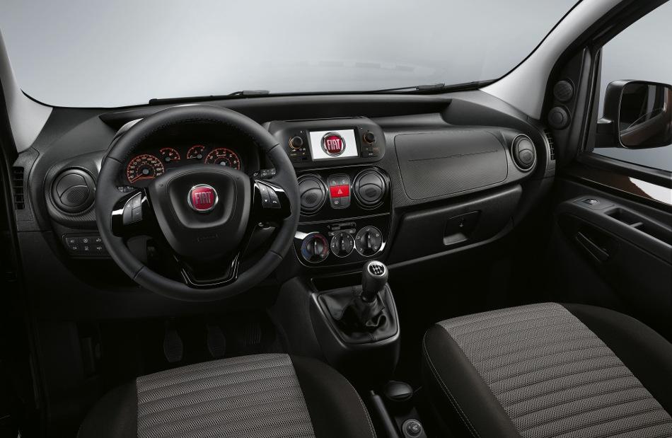 El Fiat Qubo, de gran utilidad