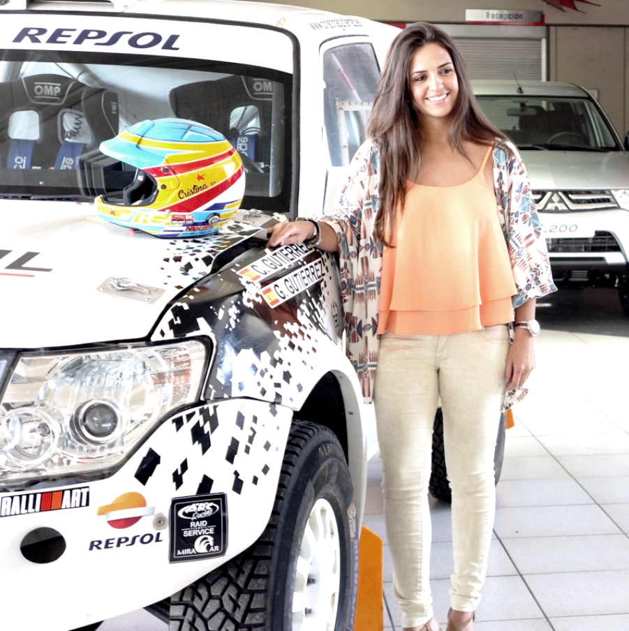 Cristina Gutiérrez correrá el Dakar 2017