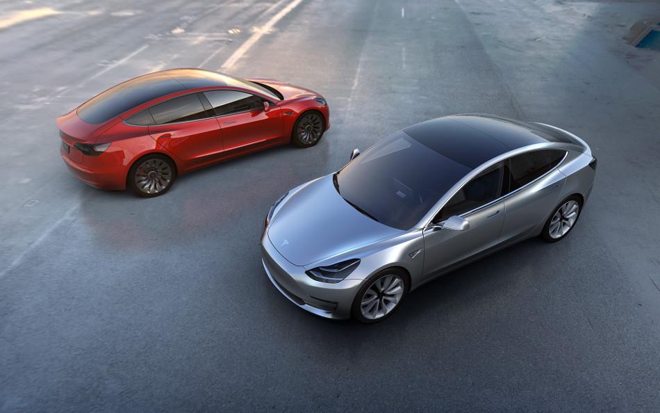 Los Tesla modelo 3 contarán con energía solar