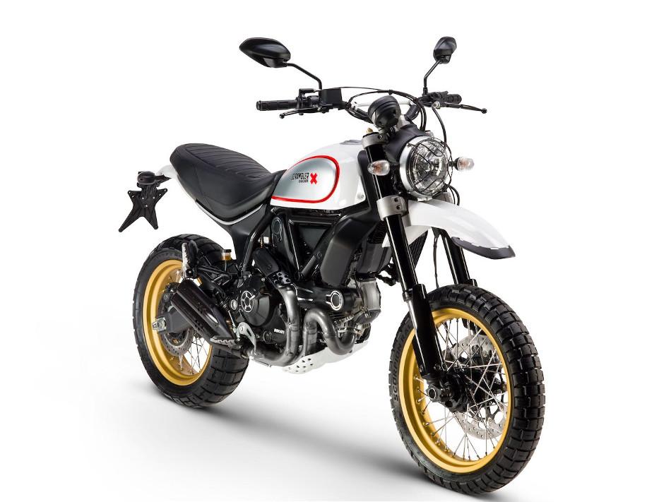 Ducati Scrambler Desert Sled 2017