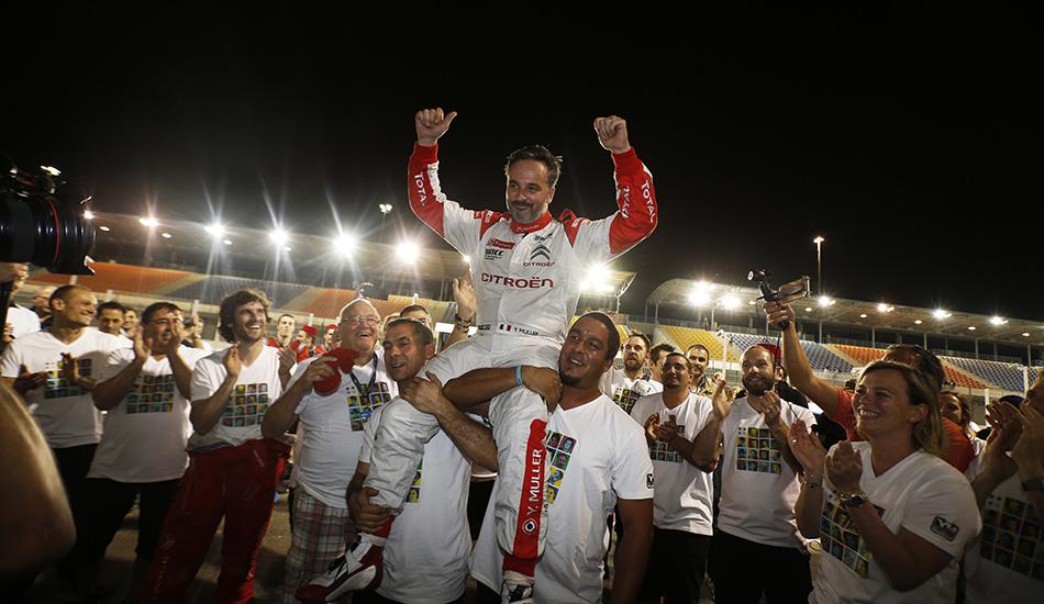 Citroën Racing despide su participación en el WTCC con victoria