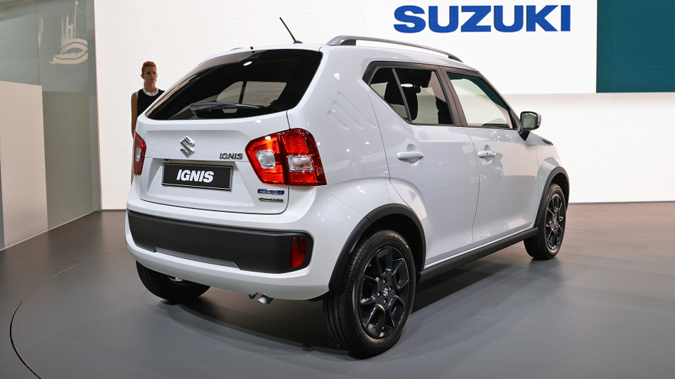 Descubre el pequeño Suzuki Ignis 2017