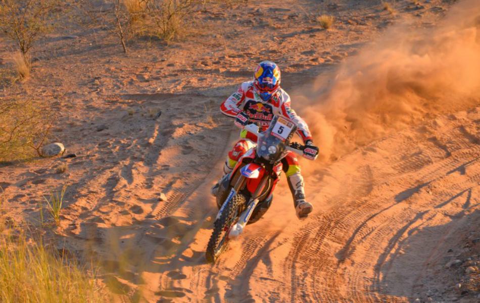 Motos | Favoritos Dakar 2017: Joan Barreda, levantarse y seguir peleando