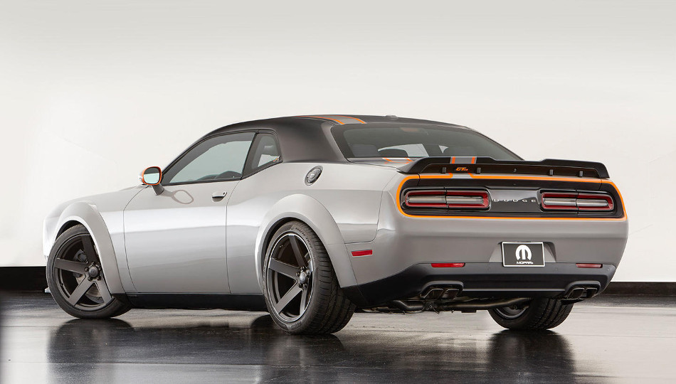 Te presentamos el Dodge Challenger GT AWD 2017
