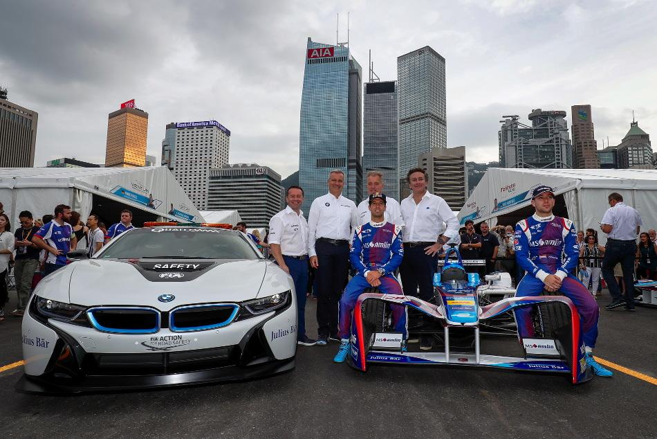 BMW, otro gigante que se suma al certamen electrizante