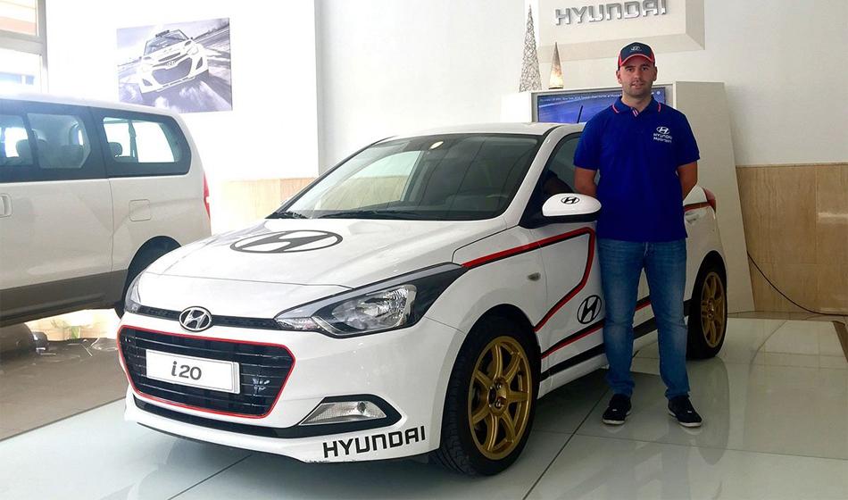 Surhayen Pernía e Iván Arés, las apuestas de Hyundai para el Campeonato de España