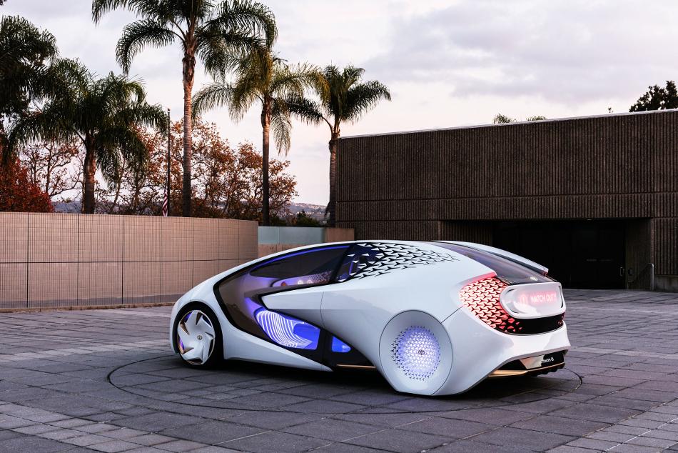 Te sorprenderá lo que es capaz el Toyota Concept-i