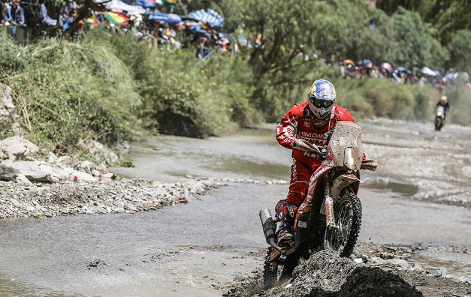 Motos   La sanción a Barreda da un vuelco al Dakar