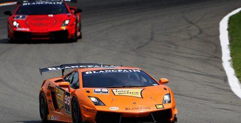 Adrian Newey se convierte en piloto por un día de la Lamborghini Blancpain Super Trofeo