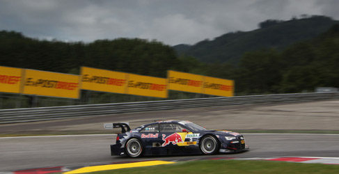 Audi domina el Warm Up en Austria