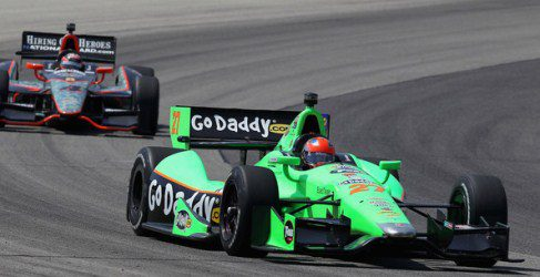 James Hinchcliffe listo para ir a por todas en Iowa