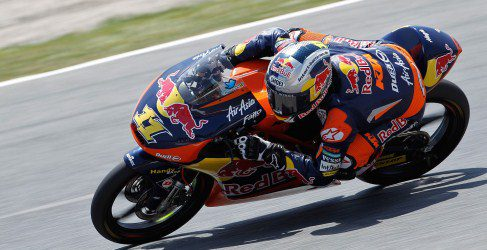Sandro Cortese domina los FP1 de Moto3 en Assen