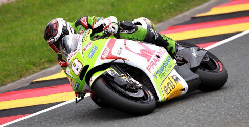 Héctor Barberá suma unos valiosos puntos en Sachsenring