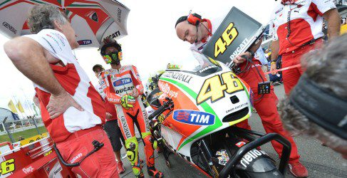 El proyecto de Audi en Ducati convence a Valentino Rossi