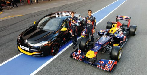 Renault Megane Red Bull Racing