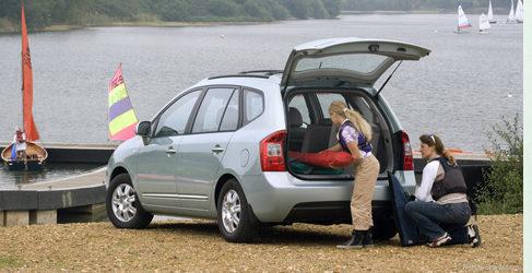 Preparar el coche para ir de vacaciones (y III)
