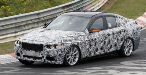 El nuevo BMW Serie 3 GT cazado en la cadena de montaje