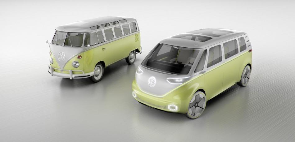 El transporte del futuro: Volkswagen ID Buzz