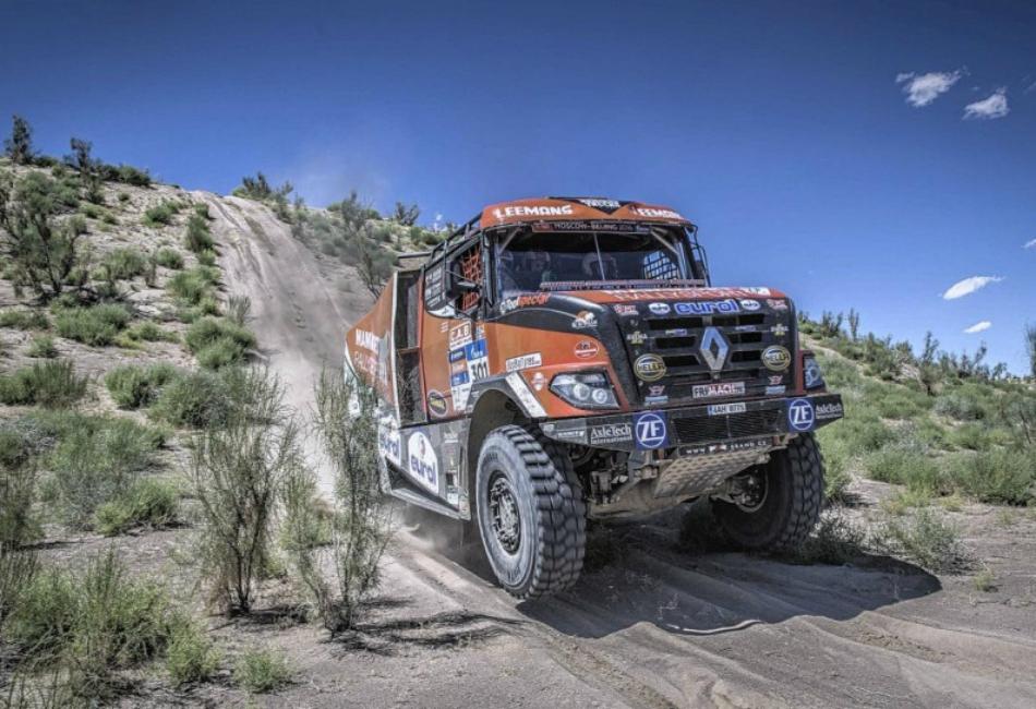 Camiones | Pinchazo 'positivo' de De Rooy y Van den Brink presume de velocidad
