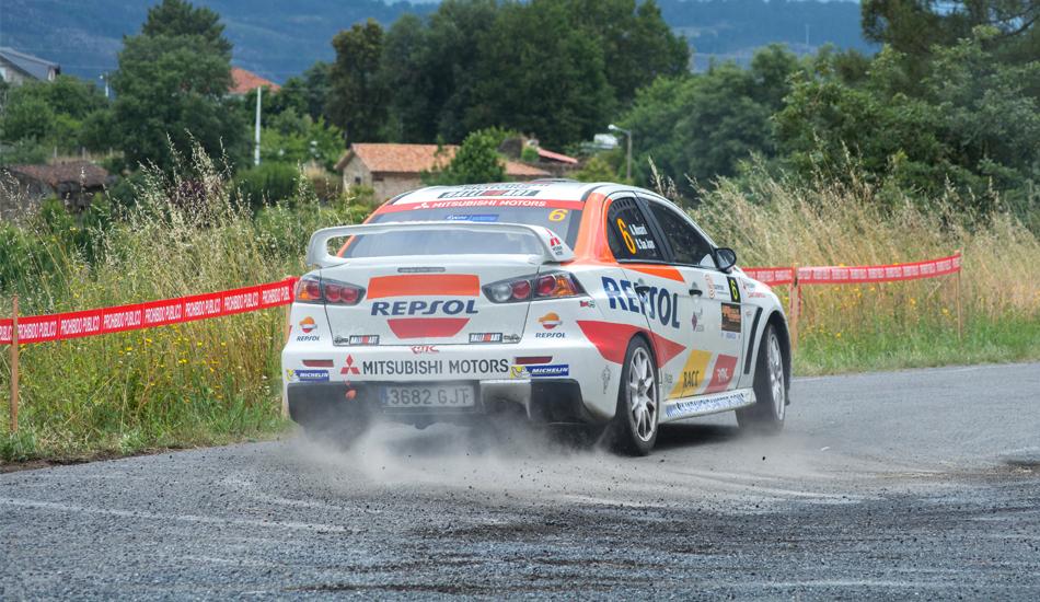 Mitsubishi-Repsol abandona el Campeonato de España de Rallies