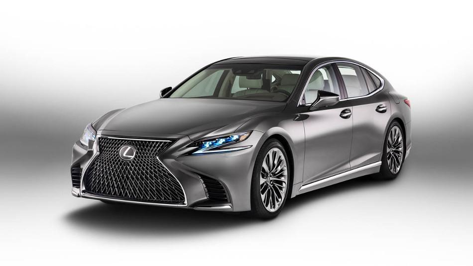 Lexus sorprende con el nuevo LS 2018