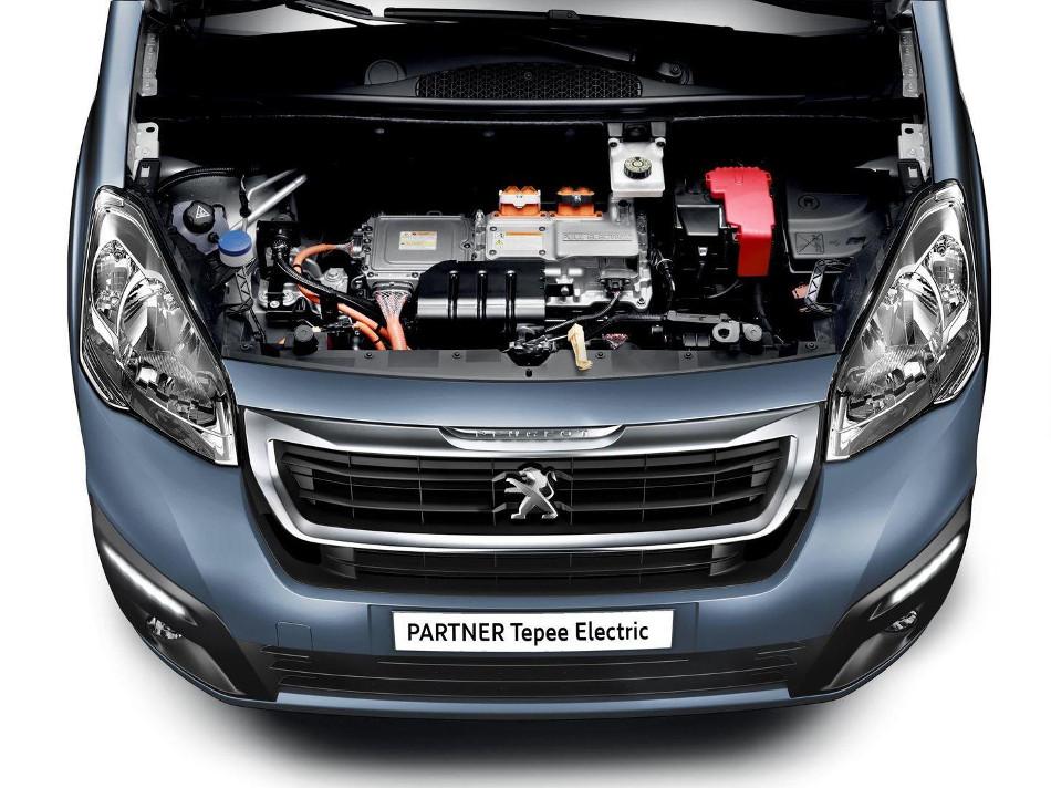 Peugeot destaca con la nueva Partner Tepee Electric