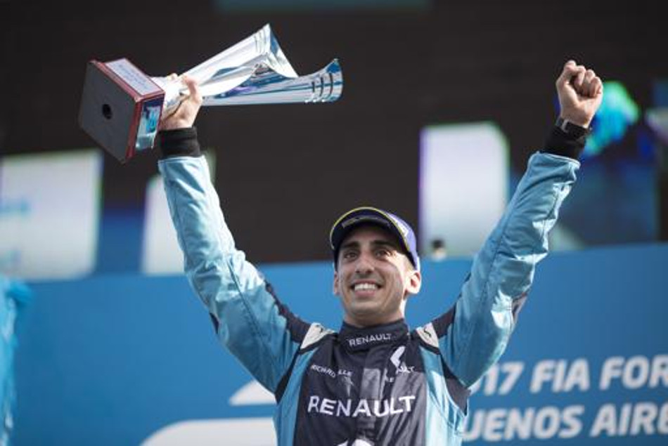 Sébastien Buemi logró su tercera victoria al hilo