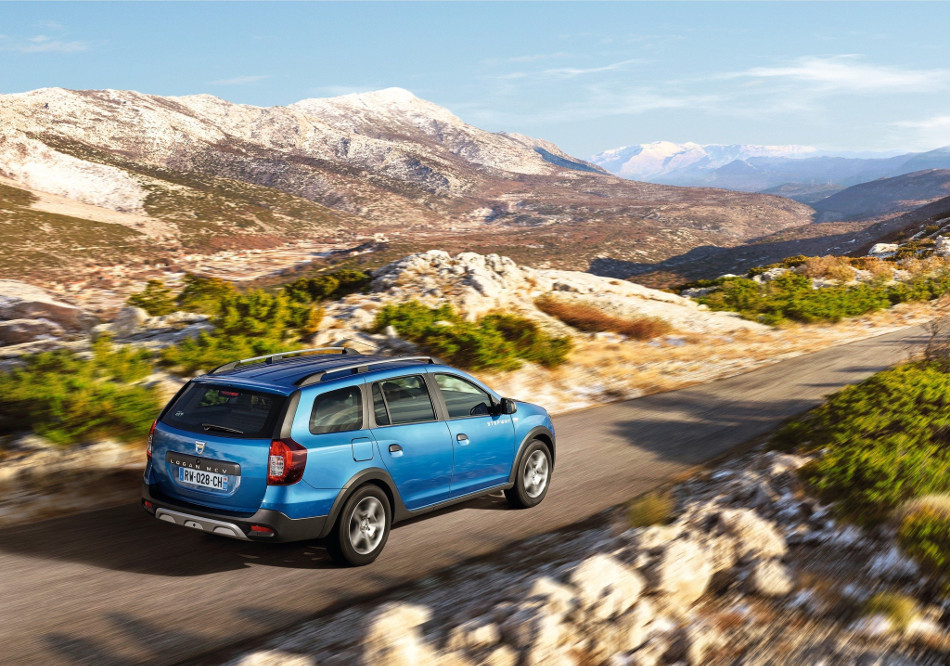 Dacia apuesta por el Logan MCV Stepway, un crossover con espíritu aventurero