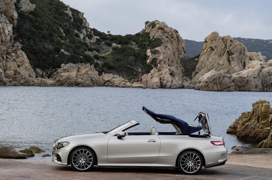 Mercedes presenta su descapotable Clase E Cabrio 2017