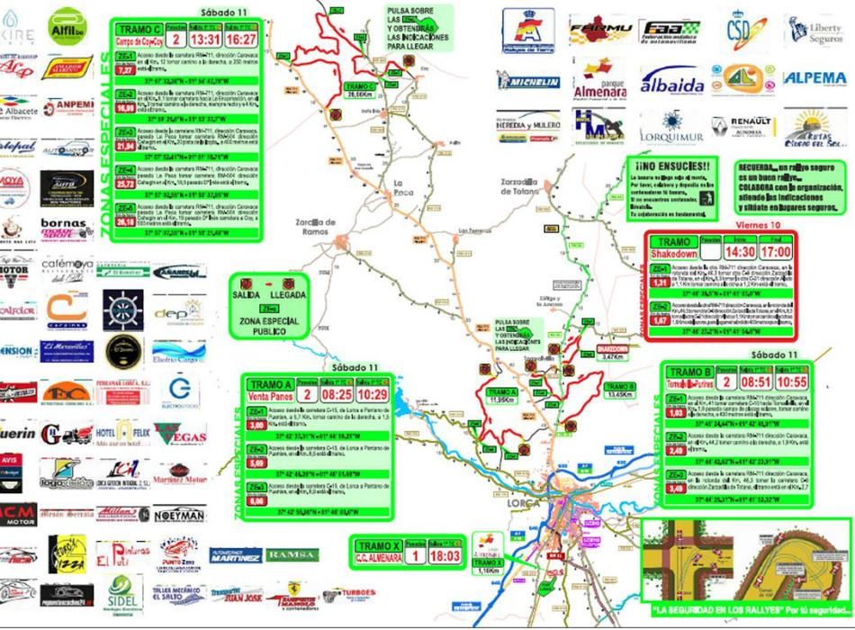 Previa   Rally Tierras Altas de Lorca 2017: inscripción de lujo para arrancar el año