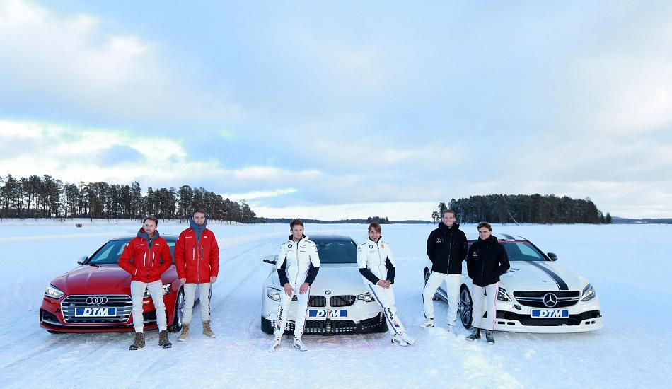 El DTM celebra un torneo sobre el hielo