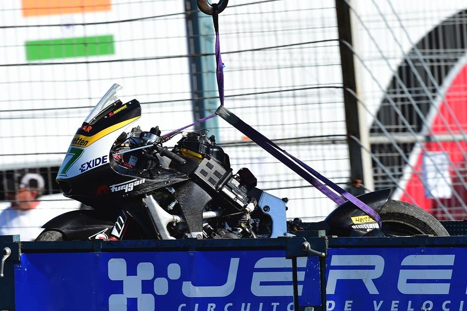 Álex Márquez arrasa con el récord de la pole en Jerez