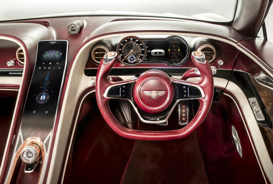 Bentley presenta el futuro EXP 12 Speed 6e