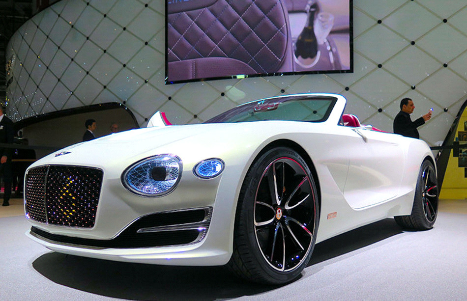 Bentley presenta el futuro EXP 12 Speed 6e