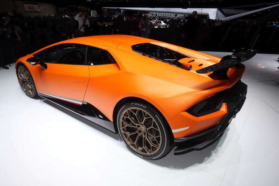 Lamborghini presentó en Ginebra su Huracan Performante