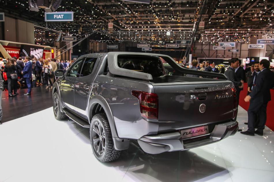 Fiat presenta su renovada pick up en el salón de ginebra 2017