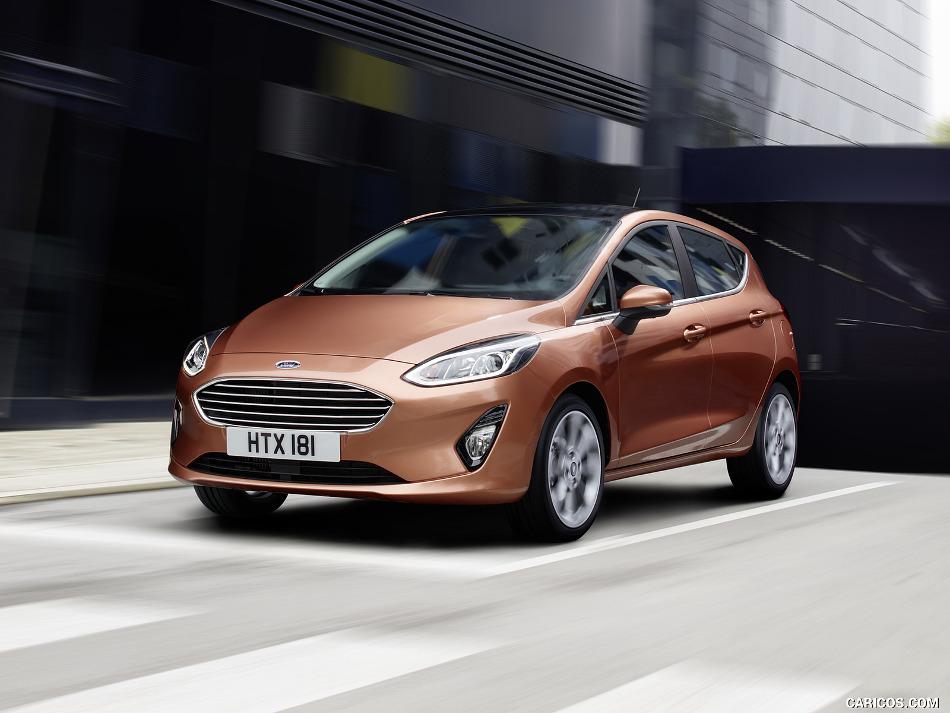 Ford Fiesta y sus cuatro llamativas presentaciones