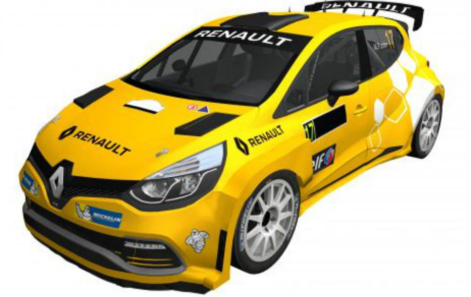 Miguel Fuster se incorpora al CERA con un Renault Clio N5
