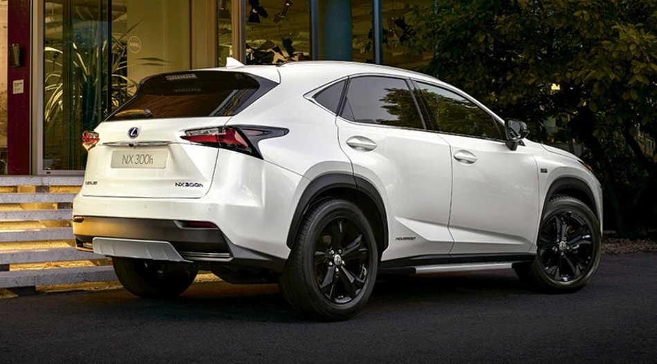 La gama Lexus NX será ampliada con el 300h Sport Edition