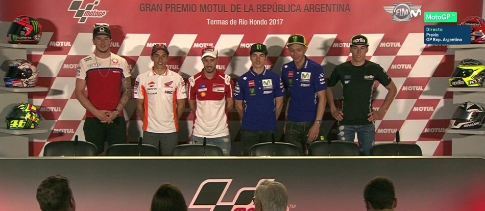 Moto GP: Ganas, trabajo y emoción