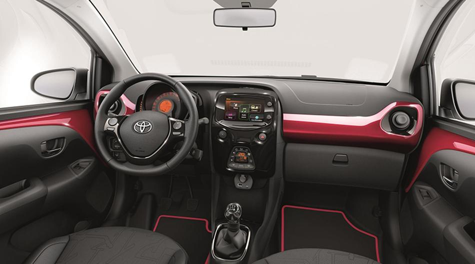 Toyota renueva el pequeño Aygo