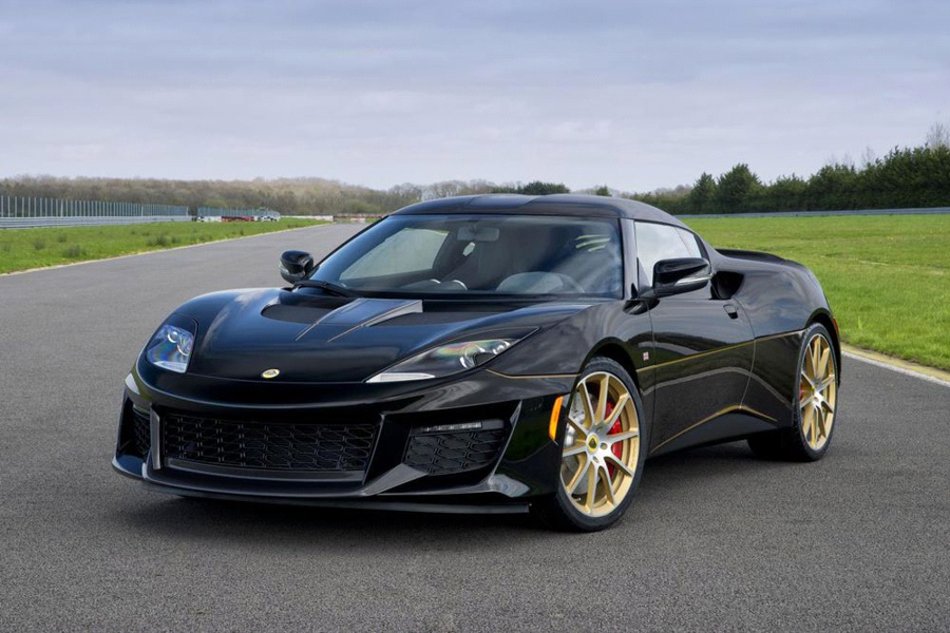 """Lotus presentó la edición especial """"Evora Sport 410 GP Edition"""""""