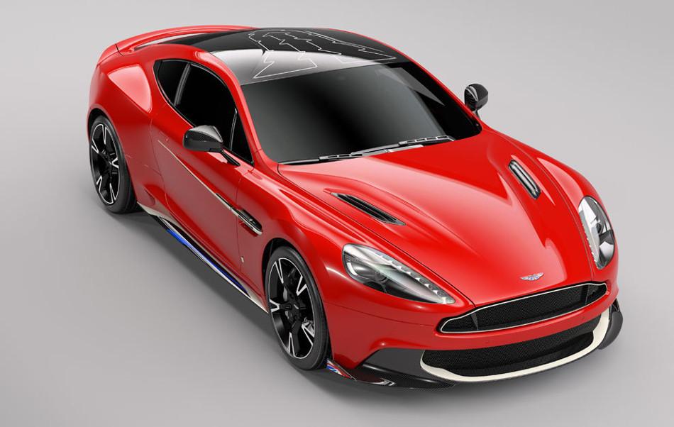 Aston Martin presenta su Vanquish S Red Arrows Edition