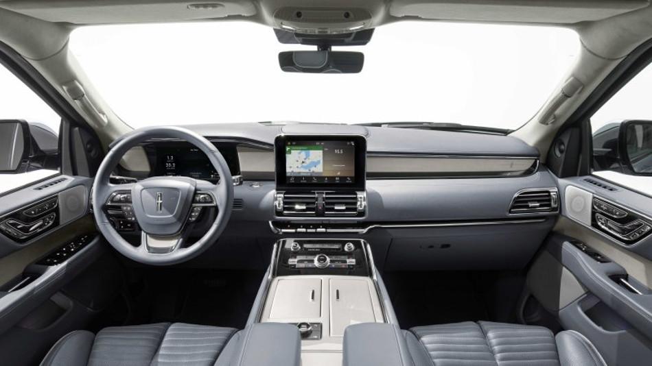 La nueva Lincoln Navigator se presenta en el Salón de Nueva York 2017
