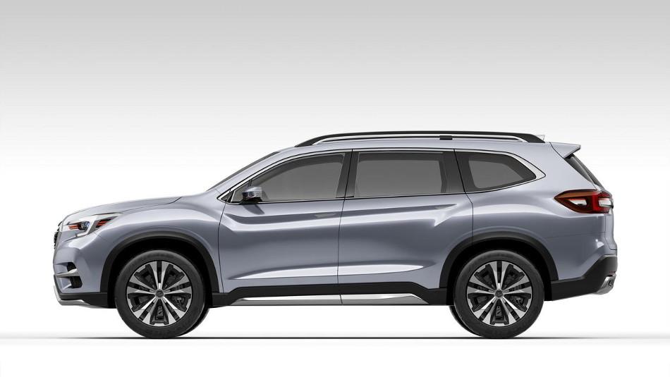 Subaru presentó el Ascent Concept