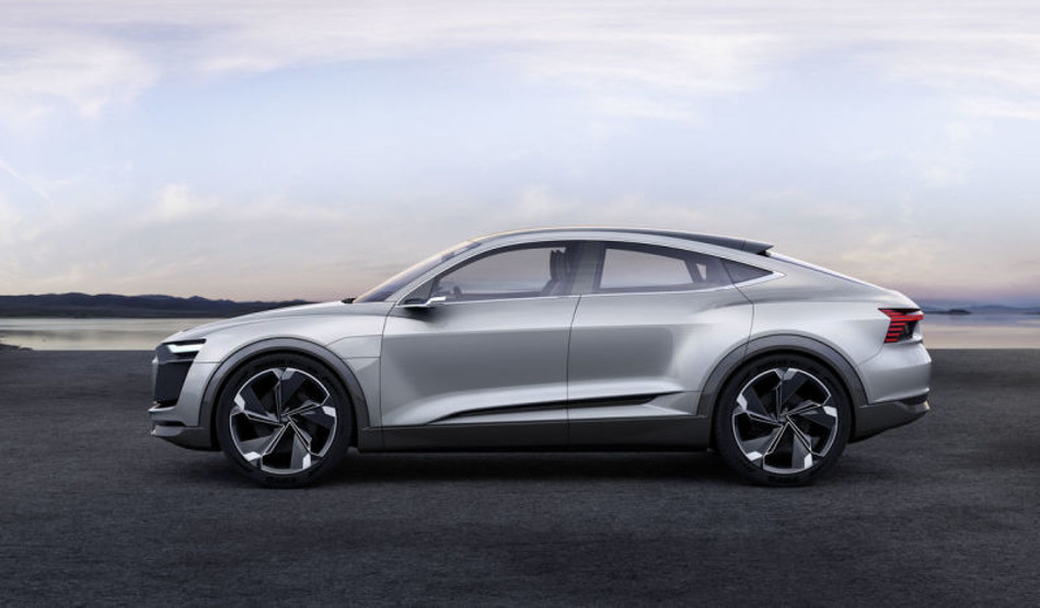 Audi más futurista presenta el e-tron Sportback